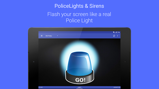 Police Lights & Sirens Pro- screenshot thumbnail