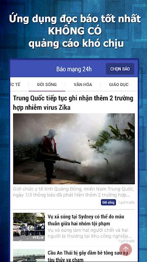Doc bao 24h - Bao moi online