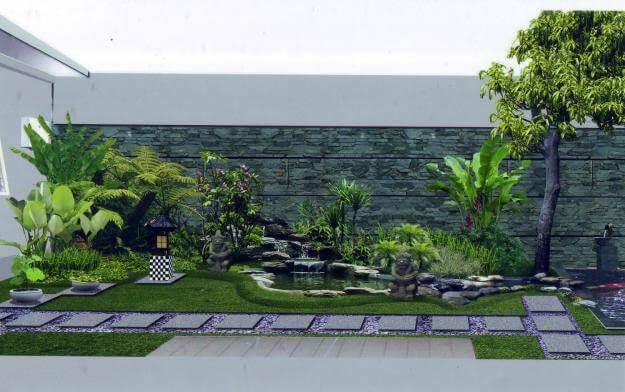 Variasi Batu Taman Dan Cara Menatanya Di Halaman Rumah