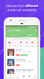 PRANK DIAL - #1 Prank Call App - náhled