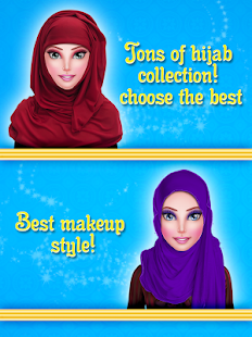 Hijab Dress-Up Doll & Makeup Saloon - náhled