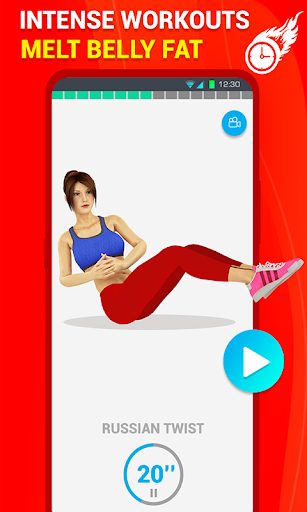 Six Pack Abs Workout 30 Day Fitness: HIIT Workouts 39.0 screenshots 3