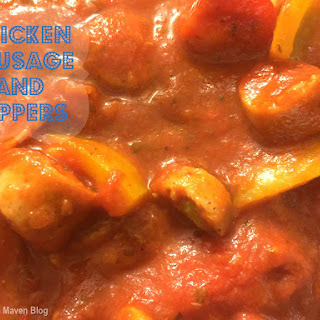 Chicken Sausage and Peppers.