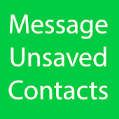 Message Unsaved Numbers