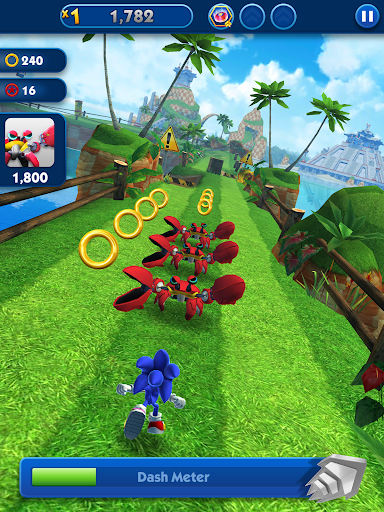 Sonic Dash - Endless Running & Racing Game  screenshots 7