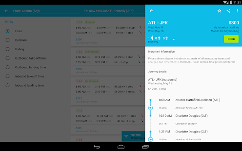Skyscanner Screenshot 12