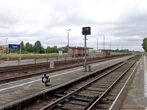 Photo: Infrastruktura stacyjna (część centralna) {Czersk; 2013-07-19}