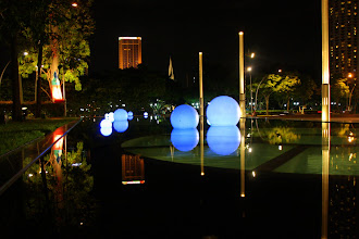 Photo: Year 2 Day 135 -  Water Feature in Front of the Performing Arts Centre (Theatres on the Bay)