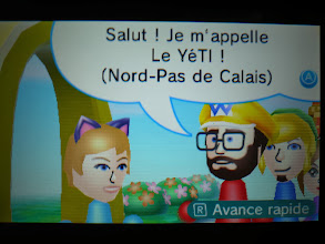 Photo: Last street pass meeting with Le Yéti :/