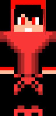 a randon red man skin