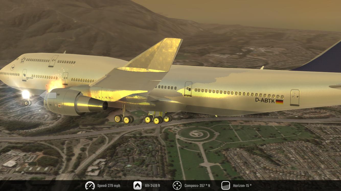 Flight Simulator 2K16- tangkapan layar