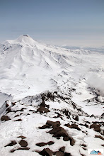 Photo: Avachinsky viewed from the ridge
