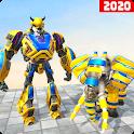 Elephant transformation Robot Shooting game 2020 icon