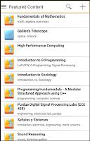 Screenshot of OpenStax CNX