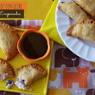 Raisin & Arroz con Leche Empanadas