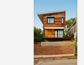 Photo: The Dasgupta/Saucier Residence, Raleigh NC, designed and built by Robby Johnston and Craig Kerins of Raleigh Architecture and Construction, Raleigh.  Engineering by Kaydos-Daniels Engineers.