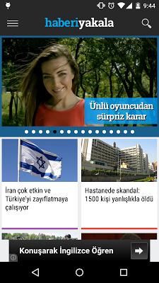 Haberi Yakala - screenshot