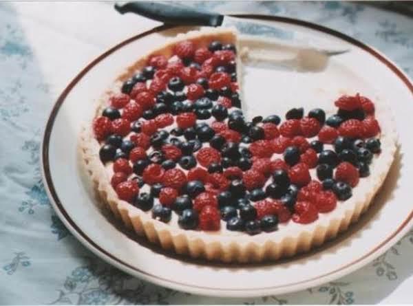 White Chocolate Fruit Tart Recipe