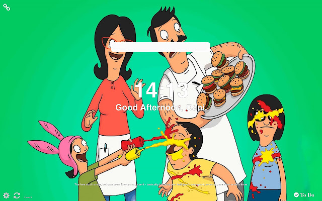 Bob's Burgers The Movie Wallpapers New Tab