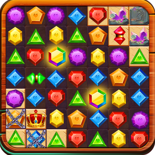 Gems & Jewels : Quest Match 3 file APK Free for PC, smart TV Download