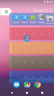 Drawers Screenshot
