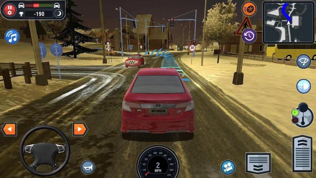 Car Driving School Simulator Android App Screenshot