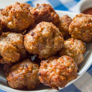 Easy Pork Meatballs Filipino-Style (Bola-bola).