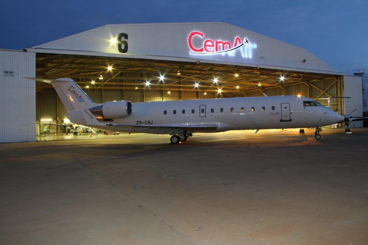 Domestic airline CemAir has been grounded by the regulator. Picture: SUPPLIED