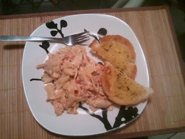 Cheesy Chicken Pasta Recipe