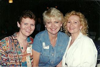 Photo: Mary (Traud) Austin, Pam Johnson Rosemond, Suzy (Wright) Thomas