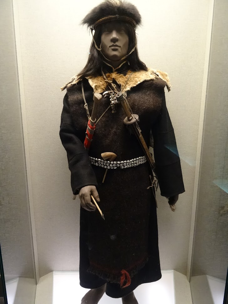 Costume traditionnel au Musée de Shanghai