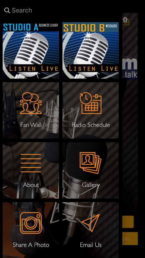 wsRadio.com- screenshot
