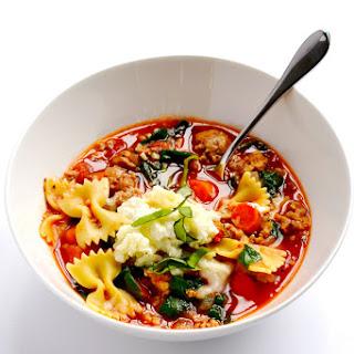 Healthy Lasagna Soup (Instant Pot or Stovetop).