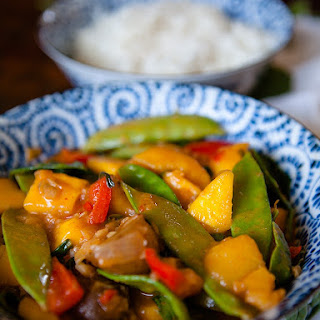 Vegan Mango Vegetable Curry