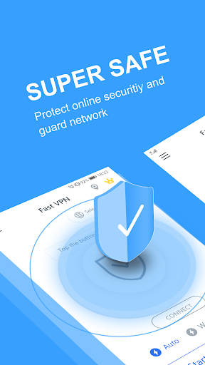 Free VPN Proxy - Secure Tunnel, Super VPN Shield - screenshot