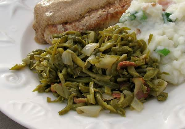 Quick French Green Beans With Bacon