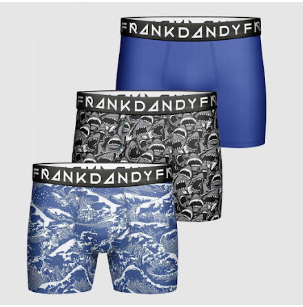 Frank Dandy Dangerous waters boxer 3-pack