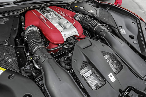 The V12 produces 588kW and 718Nm of torque. Picture: FERRARI