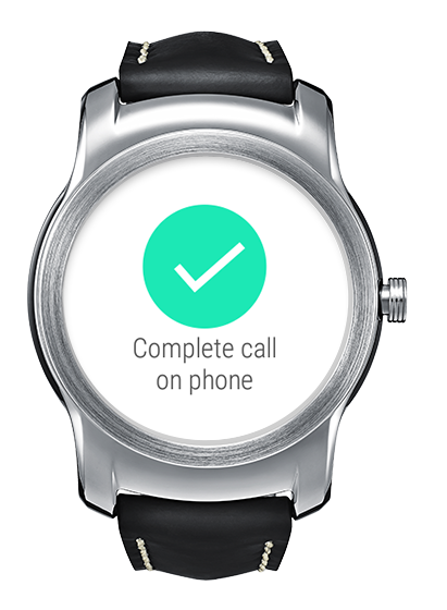 LG Call for Android Wear- screenshot