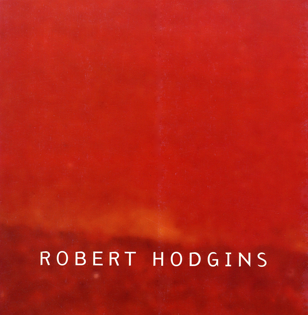 The illusive self-published, ring bound, Robert Hodgins monograph published in 1996 which illustrates what the artist considered to be his best 20 paintings. A Distant Connection is illustrated full page in colour (see plate 17)