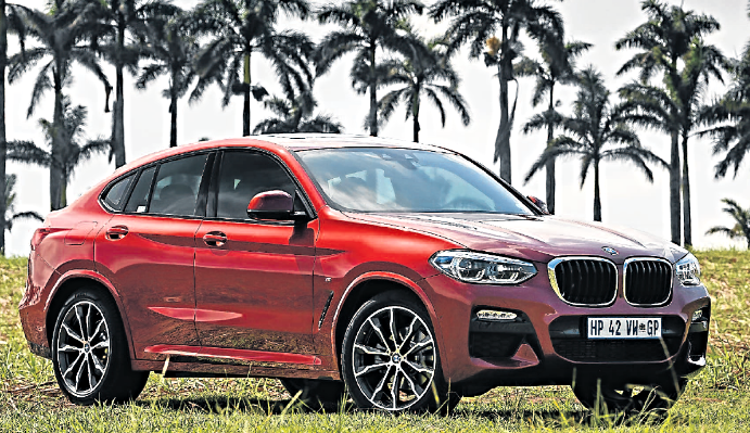 Up front the X4 and X3 share the same visage. Picture: SUPPLIED