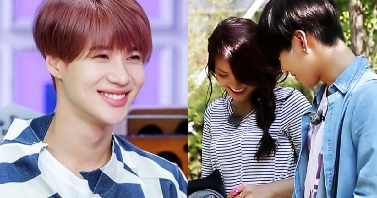 Taemin and what naeun to happened Who left
