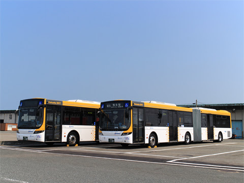 西日本鉄道 福岡都心連節バス 0101&0102