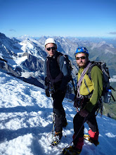 Photo: On the Eiger's summit
