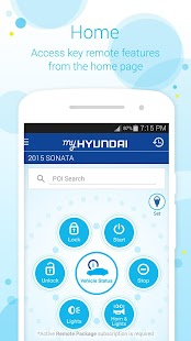 MyHyundai with Blue Link Capture d'écran