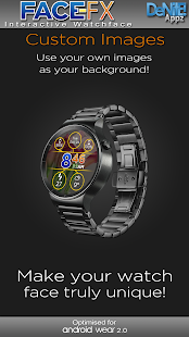 Face-FX HD Watch Face - náhled