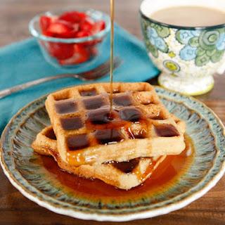 Gluten Free Tahini Waffles