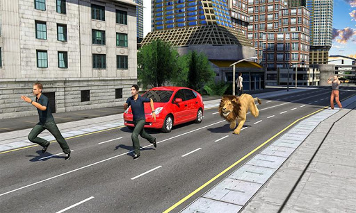 Angry Lion City Attack : Hunting Animal Simulator 1.0 de.gamequotes.net 2