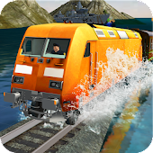 Train Driving on Water