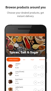 GrocerApp - Online Grocery- screenshot thumbnail